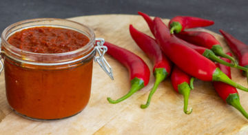 Website & huisstijl Hot Pepper King